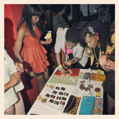 #todundesigns table at Afrofest 2012 :) (Taken with instagram)