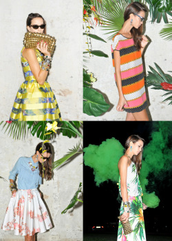 MSGM Spring Summer 2012 collection. I want to wear all the things!