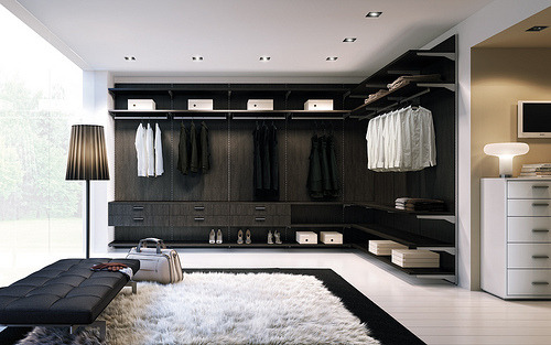look at that closet