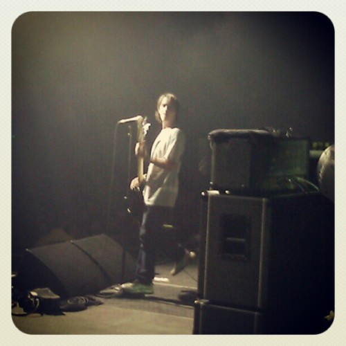 isthatjohnnyb:  @nedrussin Bakersfield 6.16.12 (Taken with instagram)  Title Fight on Rise Against Tour