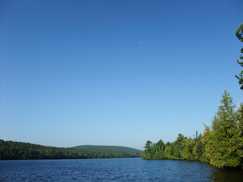 Lake Fanny Hooe by crowbert on Flickr.Fort Wilkins State Park