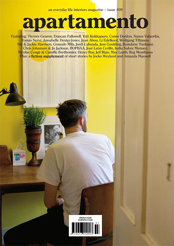 APARTAMENTO ISSUE #09WITH THE BEAUTIFUL PICTURE ON THE COVERBY PP ALL-TIME FAVORITE WOLFGANG TILMANS COMING SOON!