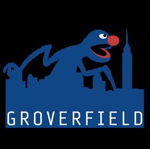 "sesamestreet:  Technically Grover is a ""monster,"" but this isn't what we originally had in mind.   Hehehe"