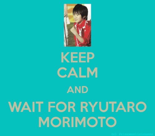 KEEP CALM AND WAIT FOR HIM. ♥