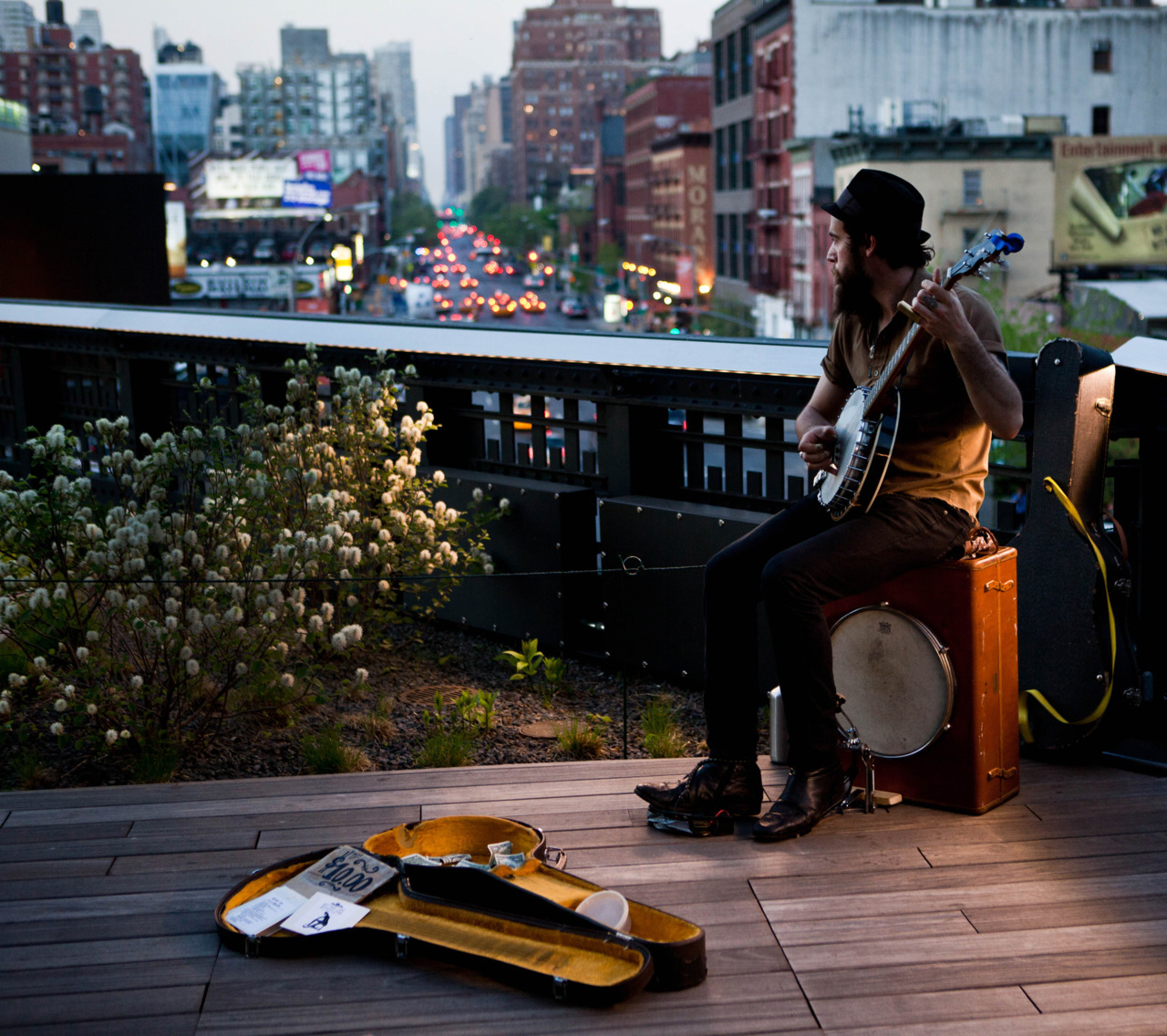 lauren:  Wilder Lee, tonight on the High Line.