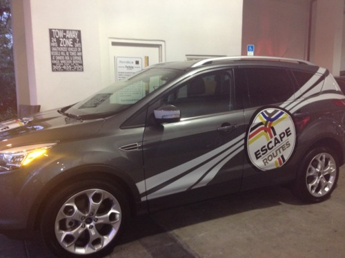 2012 Ford Escape for #EscapeRoutes