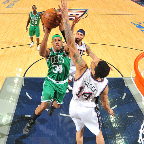 Paul Pierce, Boston Celtics [Image Source: NBA.com; Photographer: Jesse D. Garrabrant/NBAE/Getty Images]