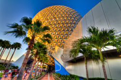 Spaceship Earth - HDR by thepalmtrees on Flickr.