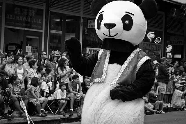 Happy Panda - Honolulu on Flickr.