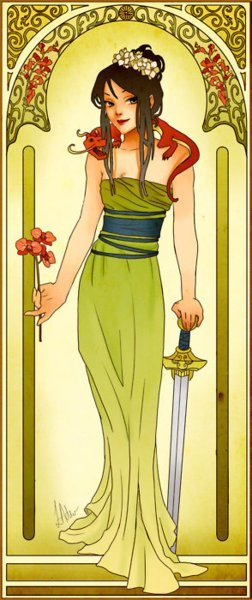Fair Maiden: Mulan