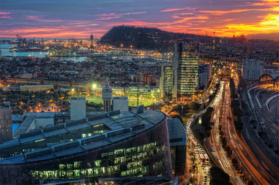 torace:  View – Vista de Barcelona (Spain), HDR (by marcp_dmoz)