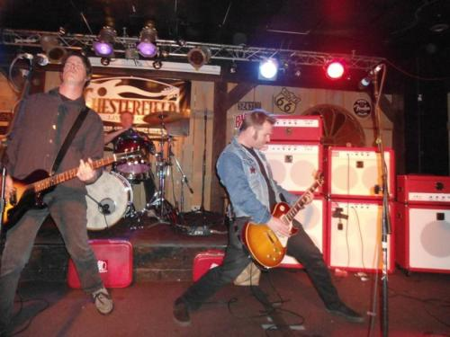Bullet Proof Hearts rocking the new line of Sioux amps.