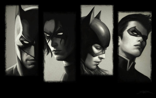 Bat Family Portraits by Shahir Shakir