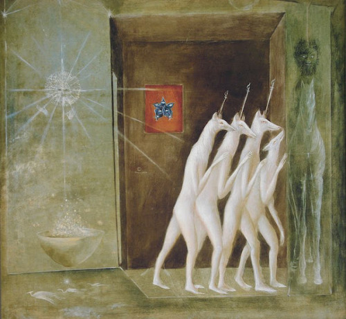 Leonora Carrington http://en.wikipedia.org/wiki/Leonora_Carrington