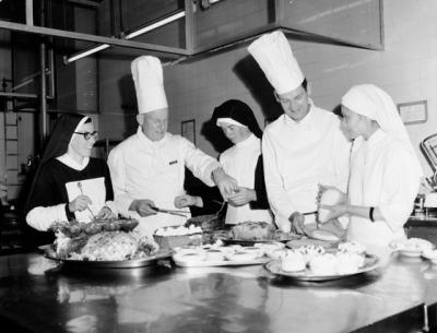 holy-soup:  Nuns attending a summer cooking school - Australia, 1969