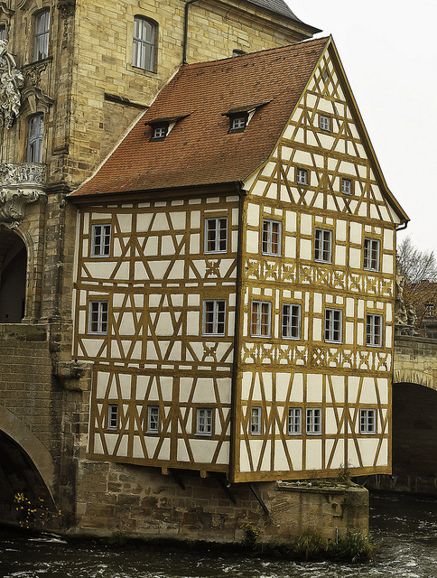 isensualist:  Town Hall on the River  Bamberg, Germany