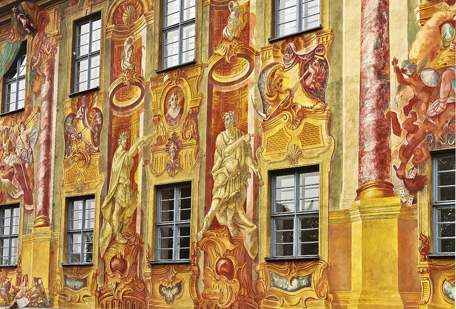 | ♕ |  Town Hall Wall - Bamberg, Germany  | by © Edward Covello