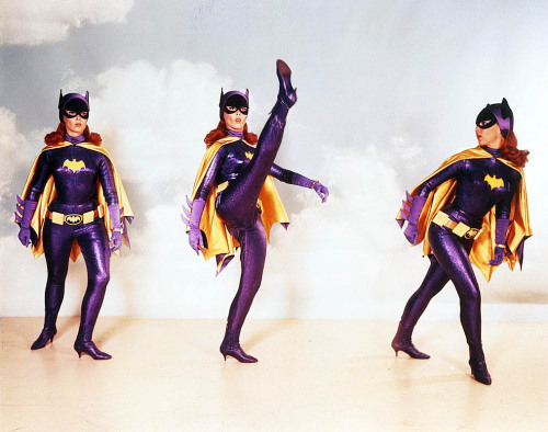 vintagegal:  Yvonne Craig as Batgirl (1960's)