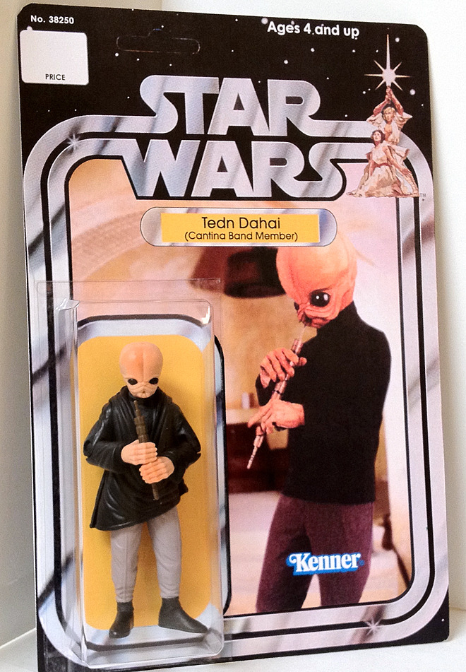 Figure #4 of 21 - Tedn Dahai (Cantina Band Member) Tedn Dahai was a Bith musician and professional fanfar player for the popular Jizz band known as Figrin D'an and the Modal Nodes. Along with his band mates, Tech was a registered member of the Intergalactic Federation of Musicians (IFM) in good standing. Like many Bith, Tech possessed a highly evolved brain, which allowed him a special acuity when it came to analyzing and relating to music. As such, his talents helped to greatly enhance the quality and popularity of the Modal Nodes' music. from Wookieepedia