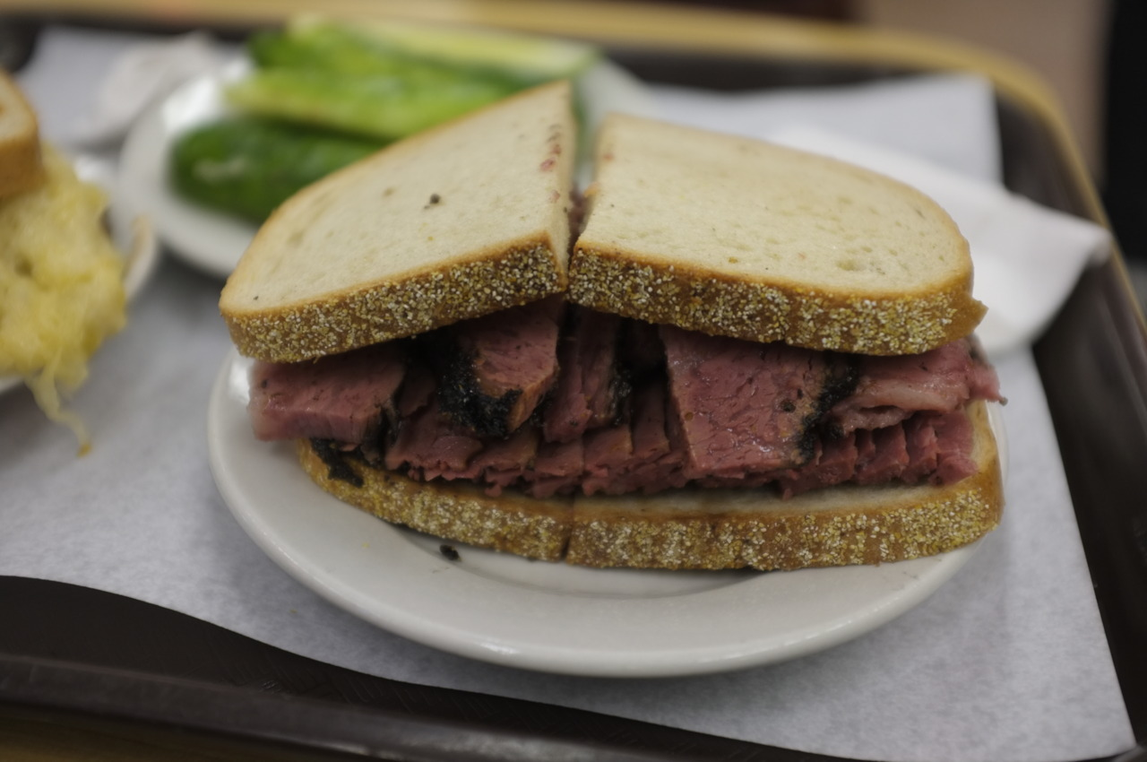 Definitely a must for pastrami. Katz Deli.