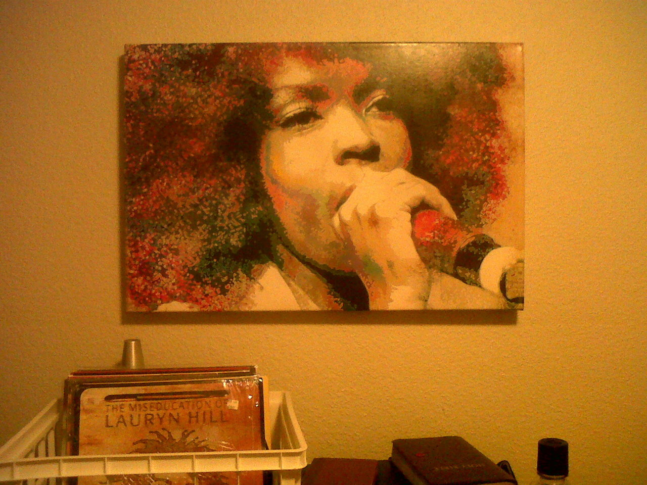 themiseducationofdestiny:  My Lauryn Hill painting