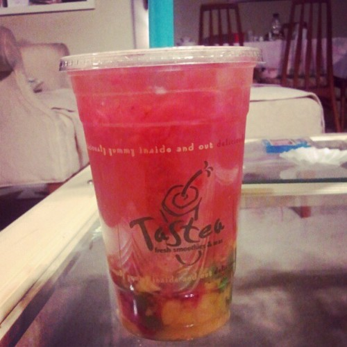 Finally!!!  (Taken with Instagram at Tastea)