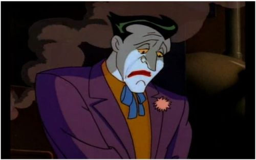 farawaybacon:  holy shit is the joker actually crying?!