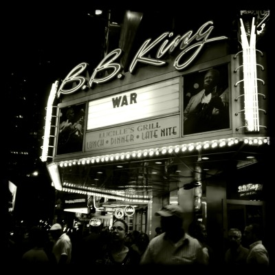 We are a country at war and we shouldn't forget #bbking #war #nyc #ows #peace
