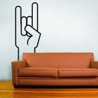 """Rock On"" Wall Decal by beepart"