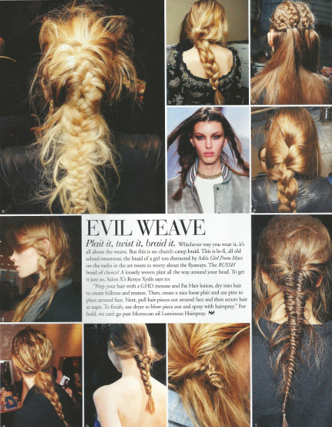 what-do-i-wear:  Summer Hair inspiration