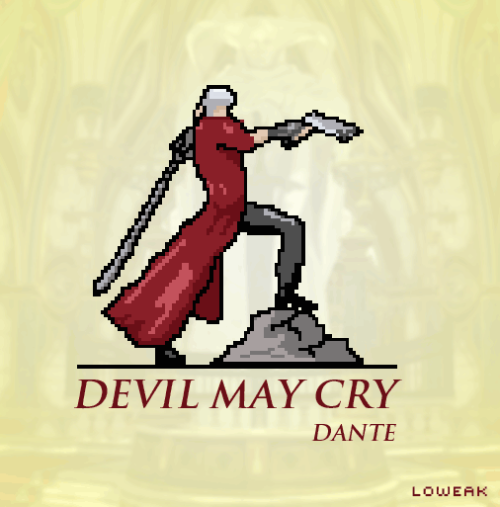 Today, Pixel Art Devil May Cry