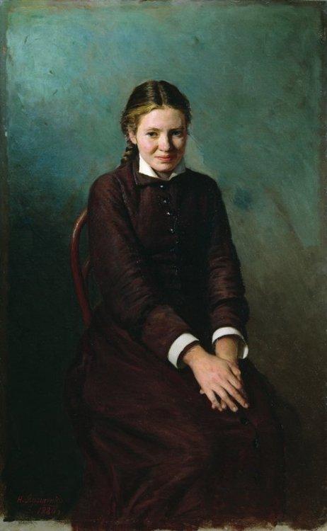 lacalaveracatrina:  Nikolai Yaroshenko - Girl Student, 1883