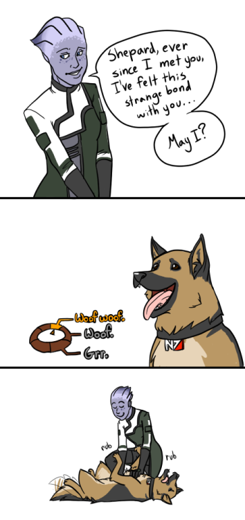 nosebro:  Commander German  Shepard