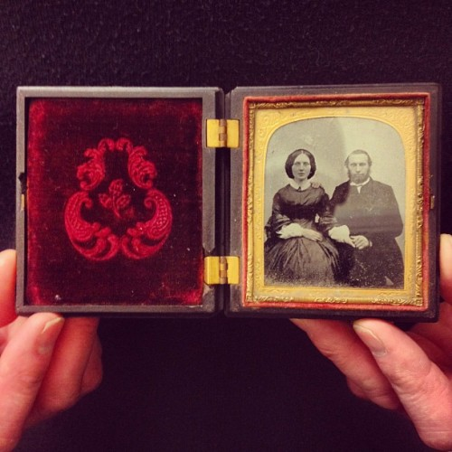 1860's Daguerreotype.  (Taken with instagram)