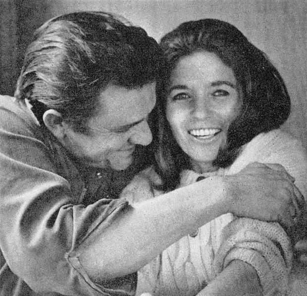 xsensibleheart:  Johnny Cash & June Carter, 1969.