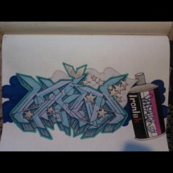 #Ironlak #names #prismacolor #graffitiart #graffiti #chapstick #blackbook #art #followme #followback #marker #sharpie #facebook #tumblr #twitter #spraypaint #Alina #stars #blue  (Taken with instagram)