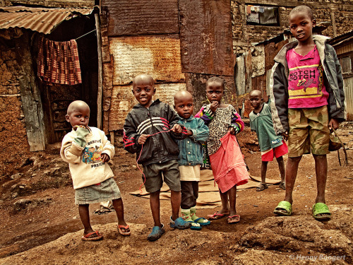 Life in Mathare, Africa.