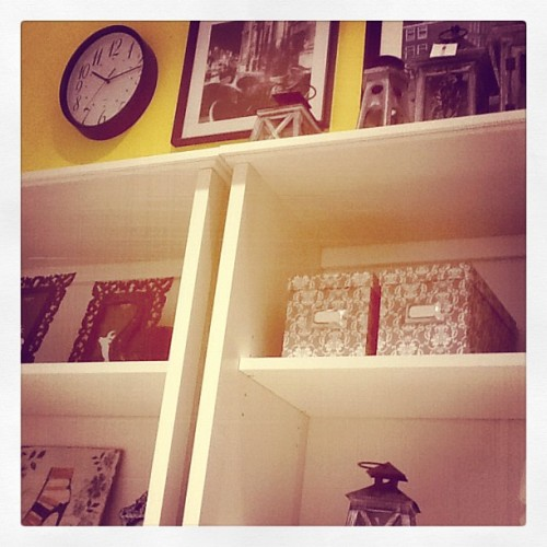 #beautiful#art#yellow#love#clock#lamp#boots#pic#room#dream#index#shelf#box (Taken with instagram)