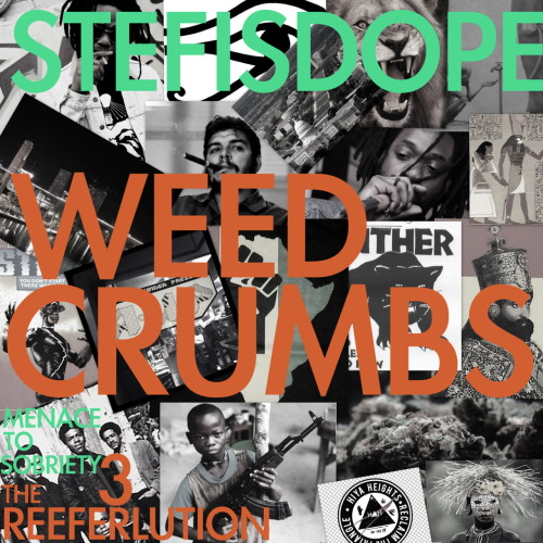 1 1 ▲ 1 1 [ DOPE MUSIC ] STEFISDOPE - WEED CRUMBS [SINGLE] #MenaceToSobriety3: The Reeferlution (click to Listen/Download)