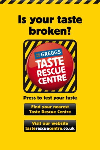 Is your taste broken? Test it today with our Taste Rescue app.Scan your tongue to let Professor Gregg T Bud test your taste level. If your taste is broken, he'll recommend the perfect cure. The second time the British bakery brand has featured on Crap Brapps, and this time, IT'S EVEN F*CKING WORSE?! WHY?! SERIOUSLY. WHY?!
