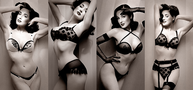 Dita von Teese. Perfect.