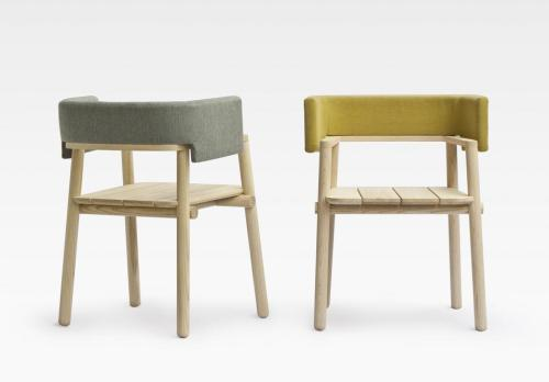 Arms chair by THINKK Studio Salone del Mobile, Milan 2012