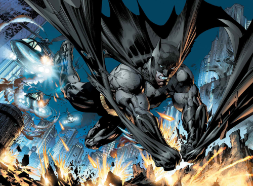 Justice League #1 (Interior panel) Art by Jim Lee