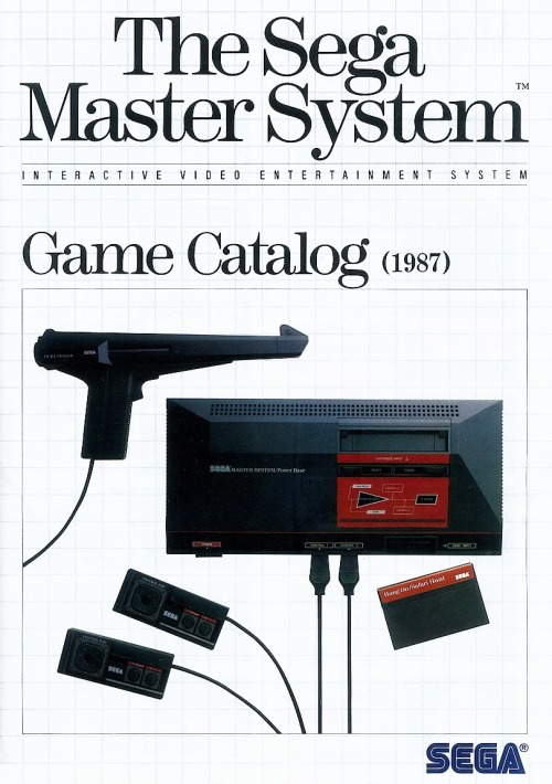 vgjunk:  Sega Master System Game Catalogue - 1987