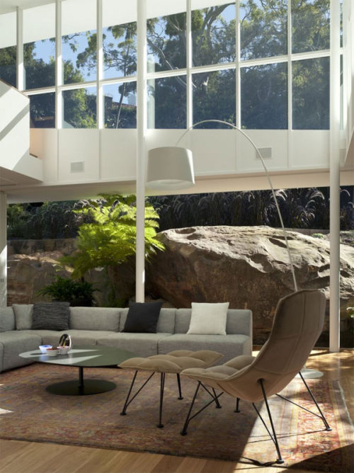 'Skirt + Rock House' designed by MCK Architects (via www.blog2modern.com)
