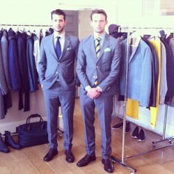 Dapper models at our press event in #London (Taken with Instagram at Somerset House)