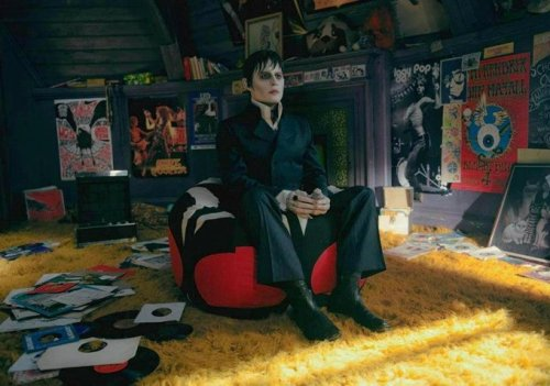Johnny Depp in Dark Shadows. (I am very excited for Dark Shadows and nobody is more surprised about that than me.)