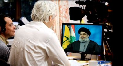 "Assange TV Launches with Interview of Hizballah Chief Via Radio Free Europe:  The mystery first guest on the new television talk show hosted by WikiLeaks founder Julian Assange was Hizballah chief Hassan Nasrallah.  Assange said it was Nasrallah's first interview with Western media since 2006. ""I want to know: why is he called a freedom fighter by millions and at the same time a terrorist by millions of others?"" Assange said. ""This is his first interview in the West since the 2006 Israel-Lebanon war. His party, Hizballah, is a member of the Lebanese government."" Nasrallah, who is considered a terrorist by Israel and the United States, spoke via computer link from Beirut in the interview.  The episode can be watched on the Russian-backed, English-language RT news channel."