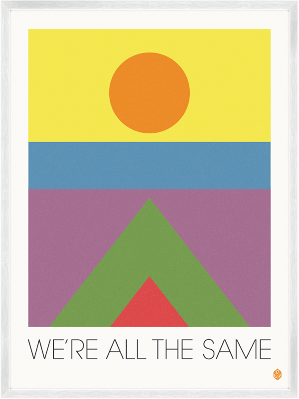 aplaceforart:  (via We're All The Same Print | My Little Underground)