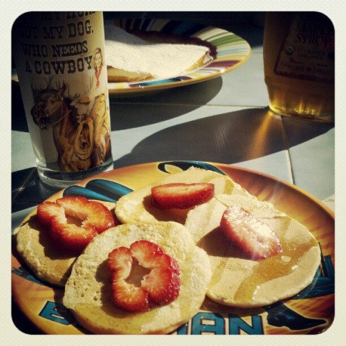 Breakfast! (Taken with instagram)